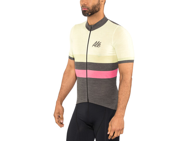 Alé Cycling Classic Vintage Maillot manches courtes Homme, white